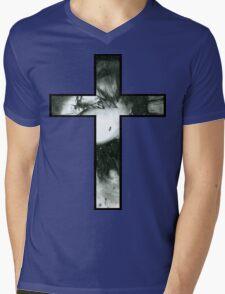 Decay Cross Mens V-Neck T-Shirt