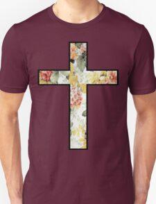 Flowers Cross T-Shirt