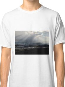 abstract hilly landscape Classic T-Shirt