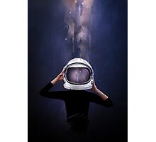 the astronaut Photographic Print