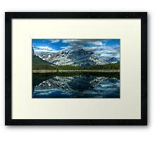 Upper Kananaskis Framed Print