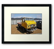Land Rover 1964 - Hobart Show Tasmania  Framed Print
