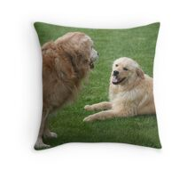 Ok! Let's Take A Time Out Porter! Featured Photo & GRAND SLAM! Throw Pillow
