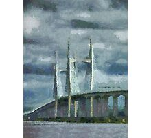Severn Bridge, Bristol, UK Photographic Print