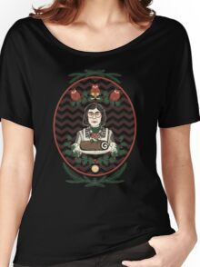 Yule Log Lady Women's Relaxed Fit T-Shirt