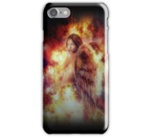 Facing Fire Doll iPhone Case/Skin