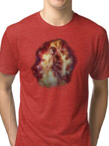 Facing Fire Doll Tri-blend T-Shirt