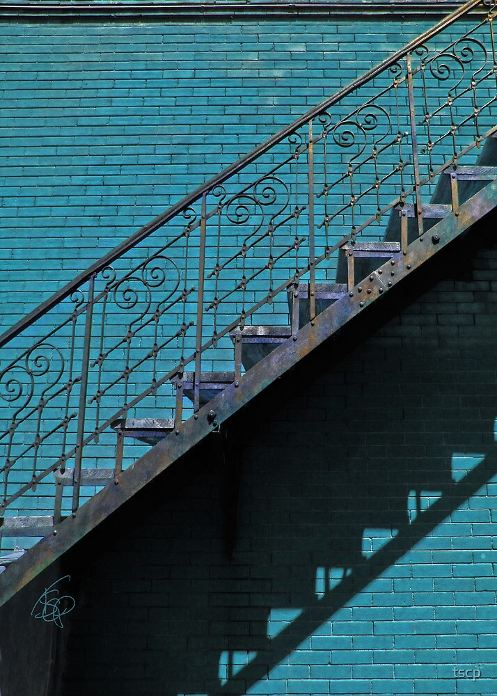 Painter's Escape: Teal by tscp