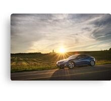 Genesis Coupe at Sunset Canvas Print