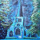 Wentworth church by Ivor