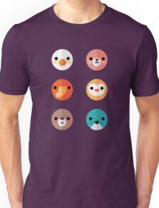 Smiley Faces - Set 1 Unisex T-Shirt