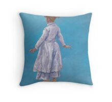 Dance of Delight Throw Pillow