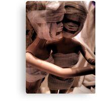Plastic Surgery Barbie Canvas Print