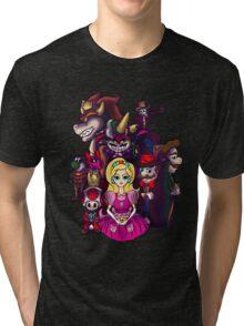 Peach in Mushroomland Tri-blend T-Shirt