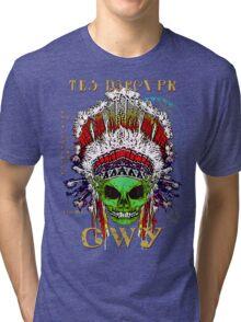 FIRST NATION CHEROKEE ALIEN Tri-blend T-Shirt
