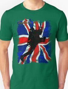 JETPACKS ARE GO UNION JACK T-Shirt