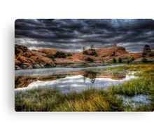 Marsh Mirror Canvas Print