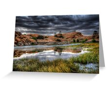 Marsh Mirror Greeting Card