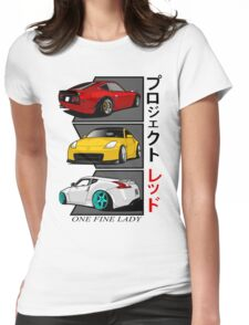 One Fine Lady Womens Fitted T-Shirt