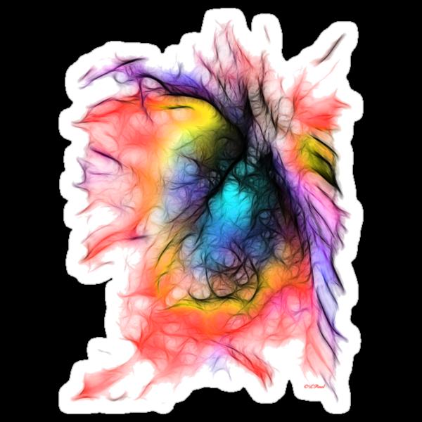 The Spirit Within-Sticker by Liane Pinel