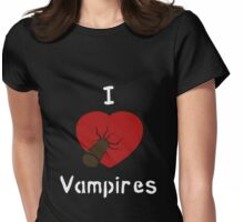 I </3 Vampires Womens Fitted T-Shirt