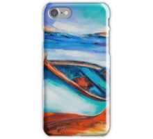 The Blue Boat iPhone Case/Skin
