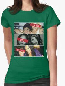 Lil Kim Trust No B*tch Womens Fitted T-Shirt