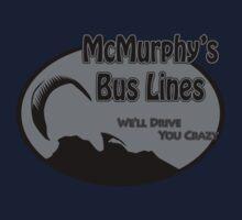 McMurphy's Bus Lines Kids Tee