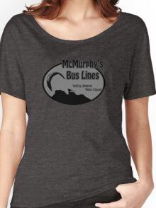 McMurphy's Bus Lines Women's Relaxed Fit T-Shirt