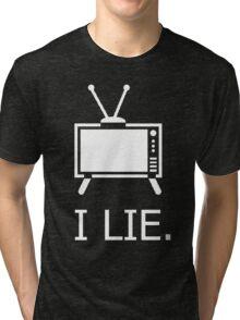 Programmed by lies Tri-blend T-Shirt