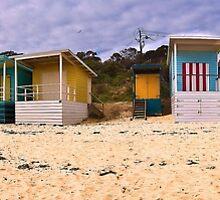 Beach Boxes by GayeLaunder Photography