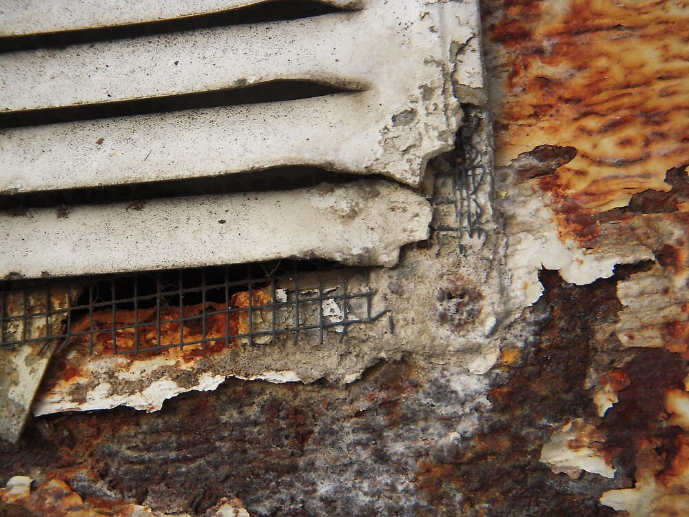 Rusty Vent by Tama Blough