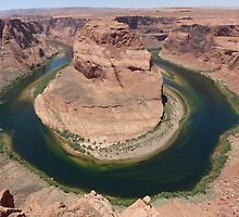 Colorado River at Horseshoe Bend by Lucinda Walter