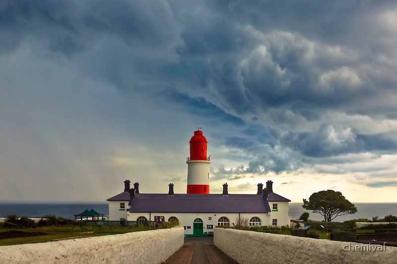Storm Over Souter by chemival