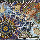 Mosaic Mural by Guy Crosley by Marilyn Harris