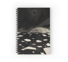 the white shore Spiral Notebook