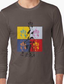 Hot Queen stencil in Camden Town Long Sleeve T-Shirt
