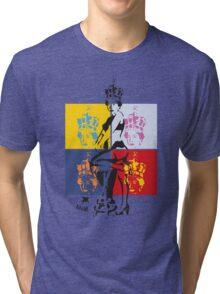 Hot Queen stencil in Camden Town Tri-blend T-Shirt