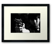 """""""Don't Blink"""" - Award Winner Framed Print"""