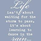Dancing in the Rain by FineEtch
