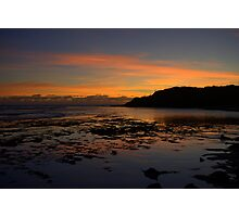 Serene sunset Photographic Print