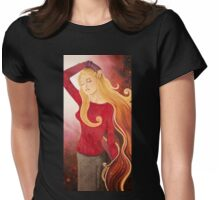 We are all made of stardust Womens Fitted T-Shirt