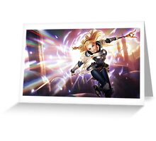 Lux - League of Legends Greeting Card