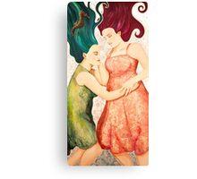 Under the Silent Sea Canvas Print