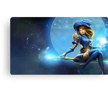 Sorceress Lux - League of Legends Canvas Print