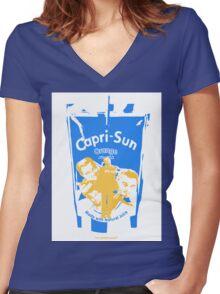 Leo DiCapri-Sun Women's Fitted V-Neck T-Shirt