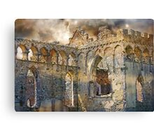 Ruins of an Ancient Life. Canvas Print