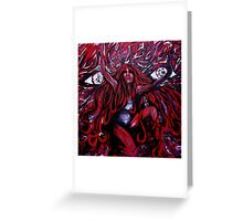 Between the Eyes Greeting Card
