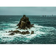 Ocean and rocks Photographic Print