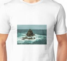 Ocean and rocks Unisex T-Shirt